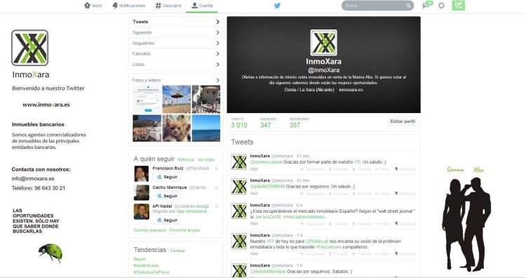 pagina twitter